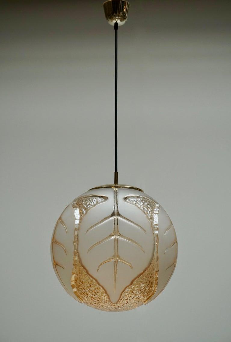 20th Century Italian Murano Glass Pendant Light For Sale