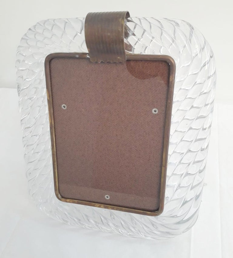 Mid-Century Modern Murano Photo Frames by Barovier e Toso For Sale
