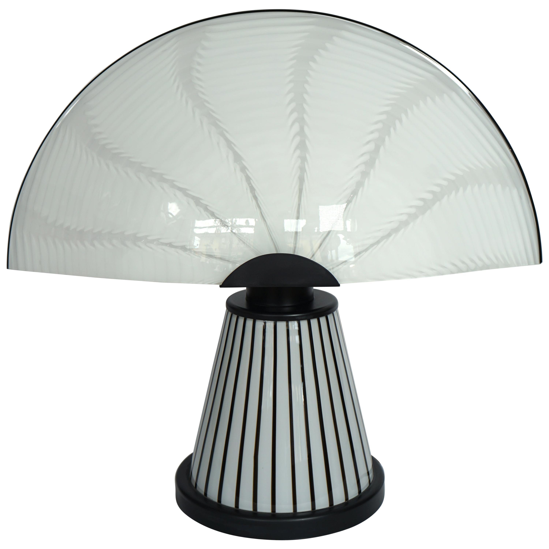 Italian Murano Glass Table Lamp Venusia Model by Renato Toso for Leucos