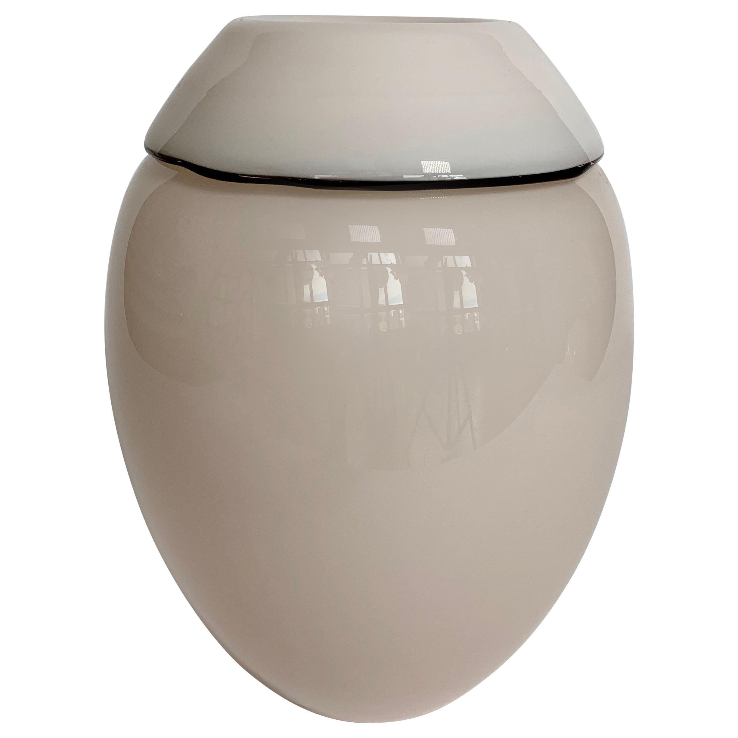 Italian Murano Glass Vase Burana Model by Lino Tagliapietra F3 International