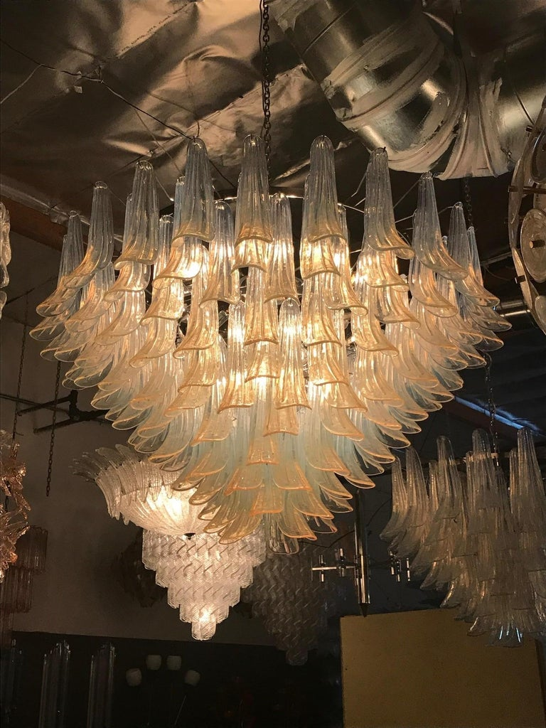 Selle Chandelier by Mazzega For Sale 2