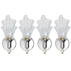 Murano Torch Glass Sconces