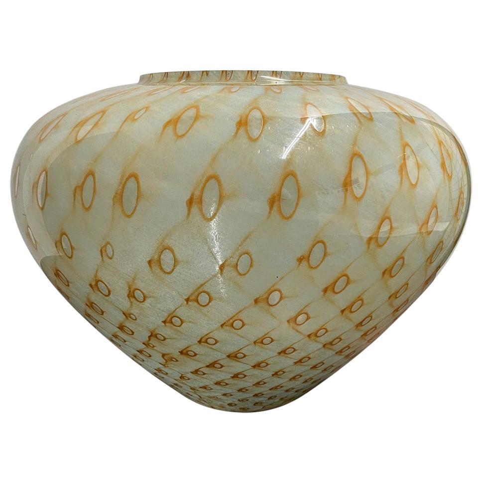 Italian Murano Vase Attributed to Barovier e Toso