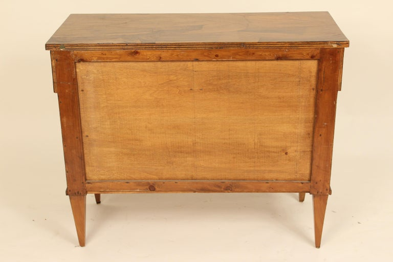 Italian Neoclassical Chest of Drawers For Sale 7