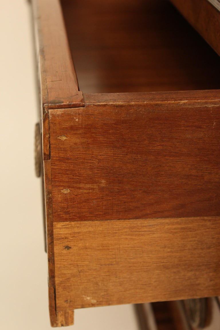 Italian Neoclassical Chest of Drawers For Sale 8