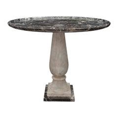 Italian Neo-Classical St. Saint-Maximin Marble Side Table