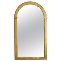 Italian Neoclassic Giltwood Arched Top Wall Mirror, circa 1800