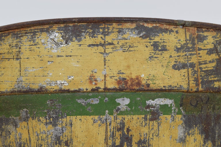 Italian Neoclassic Painted Tole Planter, Second Quarter of the 19th Century For Sale 1