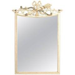 Italian Neoclassic Style 'Modern' Wall Mirror