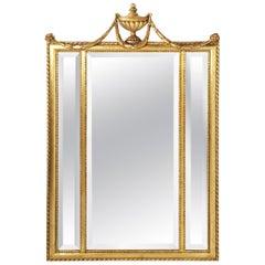 Italian Neoclassical Beveled Mirror