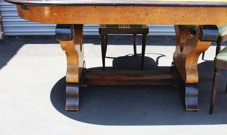 Mid-20th Century Italian Neoclassical Dining Room Set For Sale