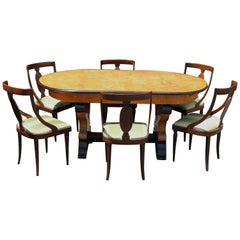 Italian Neoclassical Dining Room Set