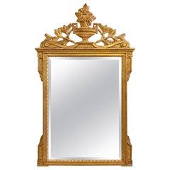 Italian Neoclassical Gilt Mirror