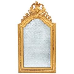 Italian Neoclassical Giltwood Mirror, circa 1800