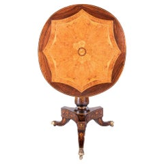 Italian Neoclassical Pedestal Table