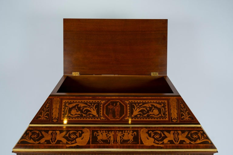 Italian Neoclassical Secretaire For Sale 12