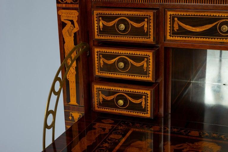Italian Neoclassical Secretaire For Sale 14