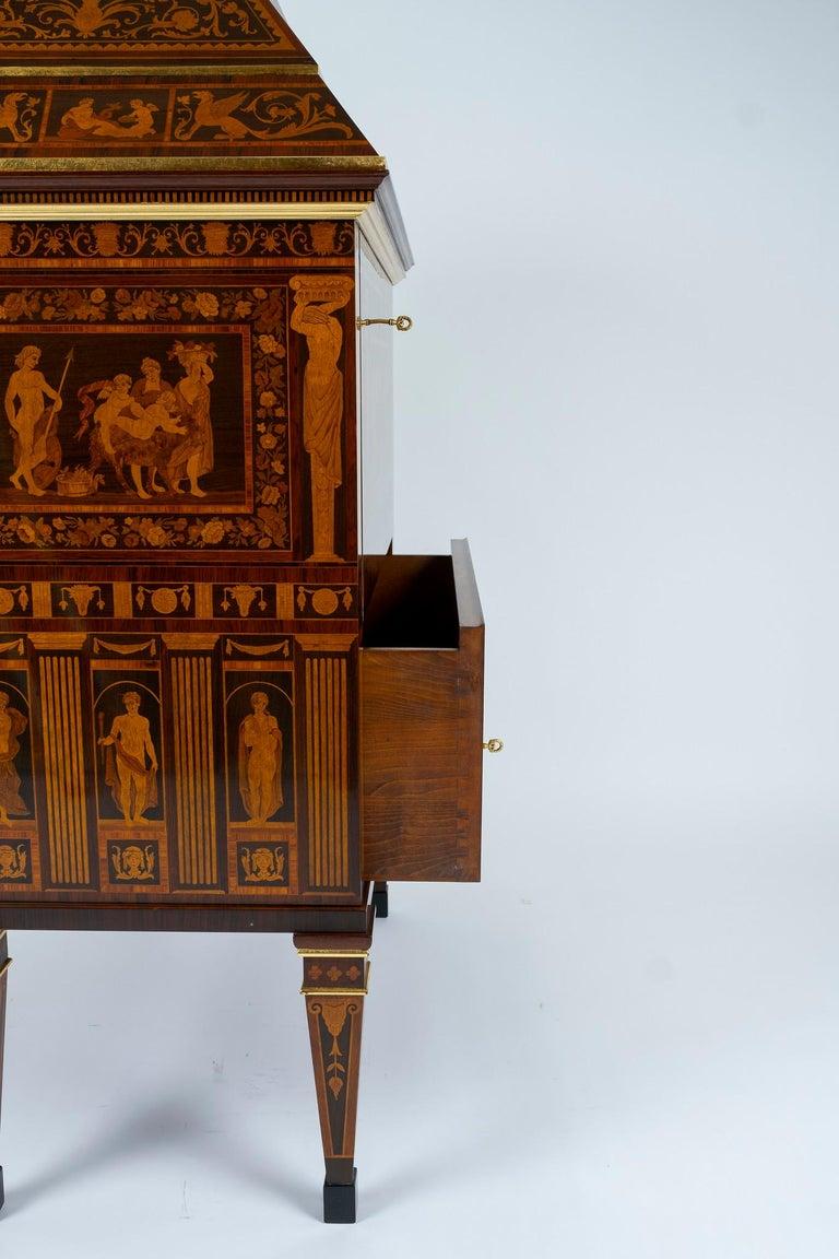 Italian Neoclassical Secretaire For Sale 3
