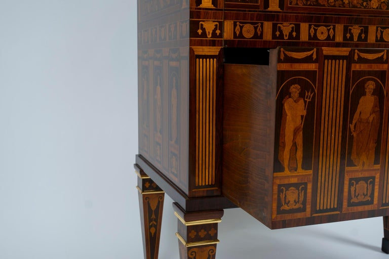 Italian Neoclassical Secretaire For Sale 4