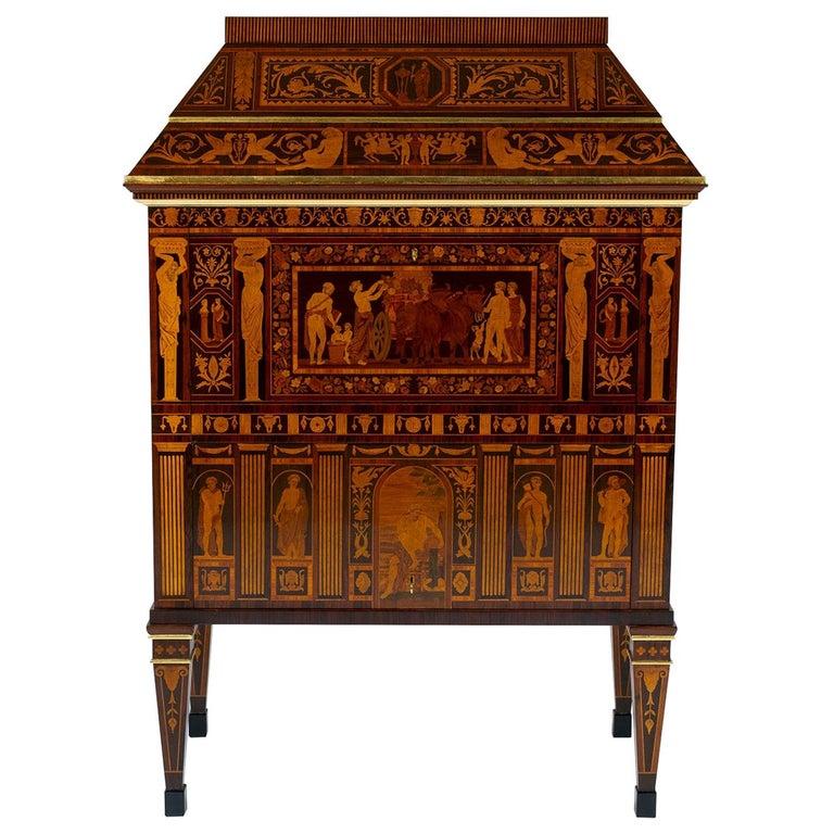Italian Neoclassical Secretaire For Sale