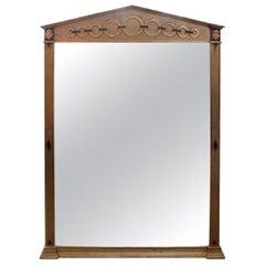 Italian Neoclassical Style Giltwood Mirror