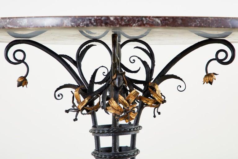 Italian Neoclassical Style Pietra Dura Marble Centre Table 4