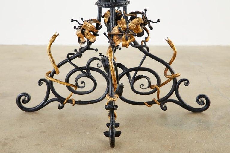Italian Neoclassical Style Pietra Dura Marble Centre Table 5