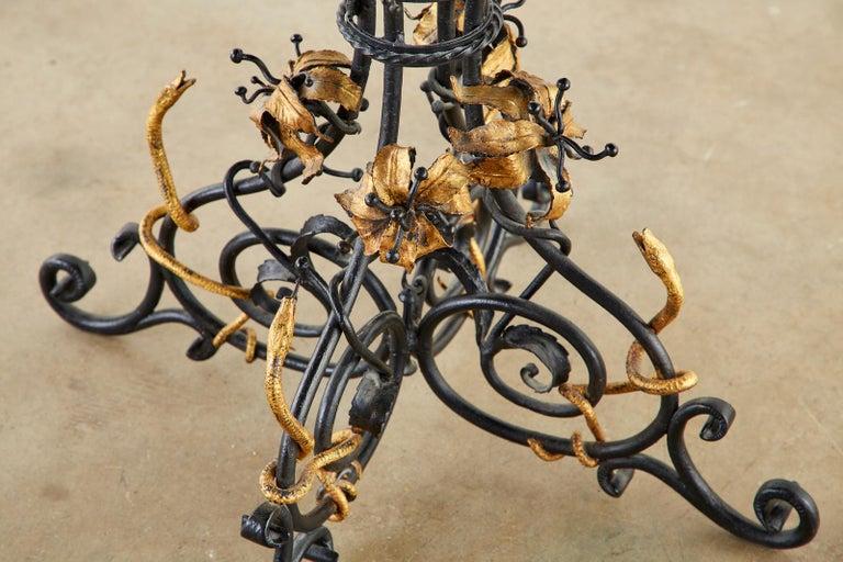 Italian Neoclassical Style Pietra Dura Marble Centre Table 6