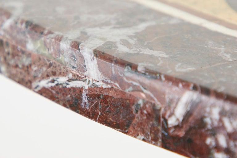Italian Neoclassical Style Pietra Dura Marble Centre Table 13