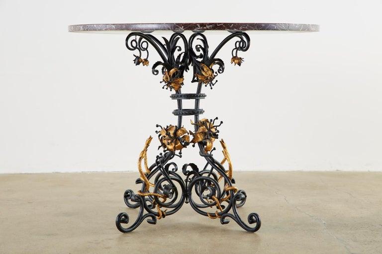 20th Century Italian Neoclassical Style Pietra Dura Marble Centre Table