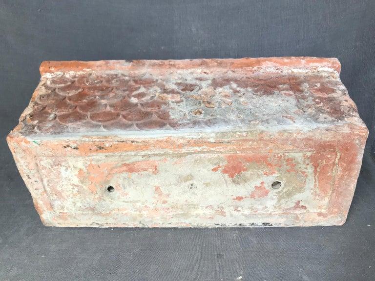 Italian Neoclassical Terracotta Planter For Sale 5