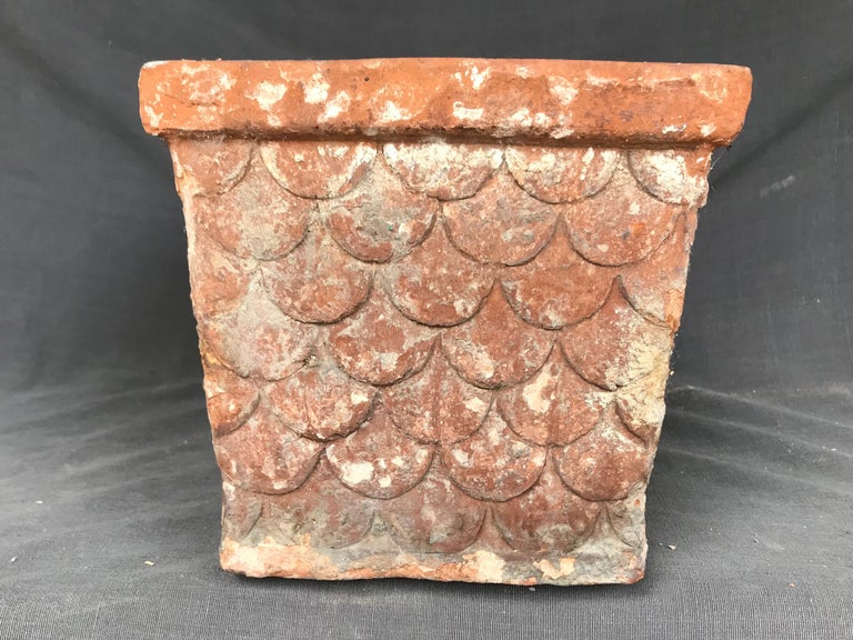 Italian Neoclassical Terracotta Planter For Sale 3