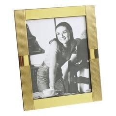 Italian Noel B.C. 1970s Brass Picture Frame