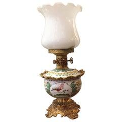 Italian Oil Table Lamp by Mangani Firenze, 1970