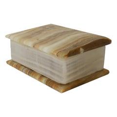 Italian Onyx Marble Box