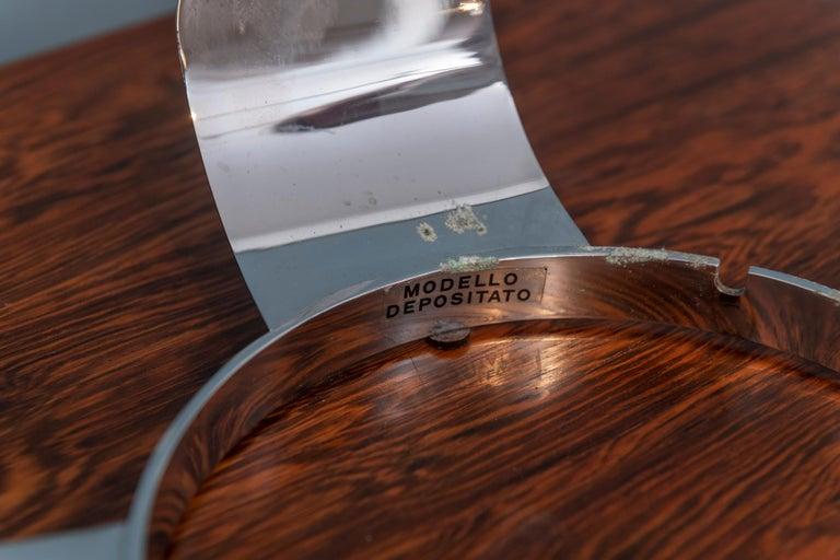 Italian Opaque Glass Table Lamp Jardinière For Sale 3