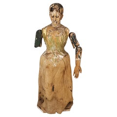 Italian or Spanish Mannequin from 18th Century