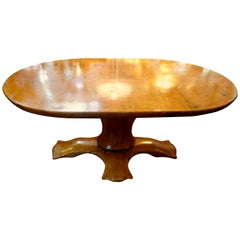 Italian Organic Modern Center Table-Osvaldo Borsani Attributed