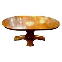 Italian Organic Modern Center Table-Osvaldo Borsani Attributed