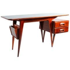 Italian Organic Shape Desk by Vittorio Dassi-Milano, 1950