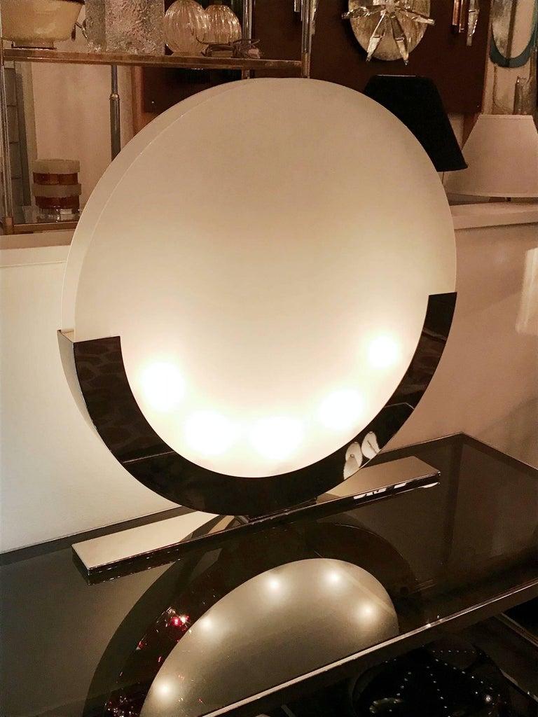 Modern Italian Oversized Table Lamps / Floor Lamps For Sale