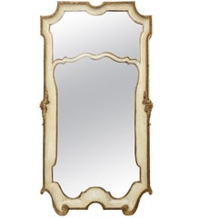 Italian Painted and Gilded Mirror by Palladio