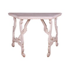 Italian Painted Console Table