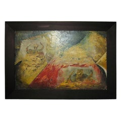 Italian painting   colaz  and oil