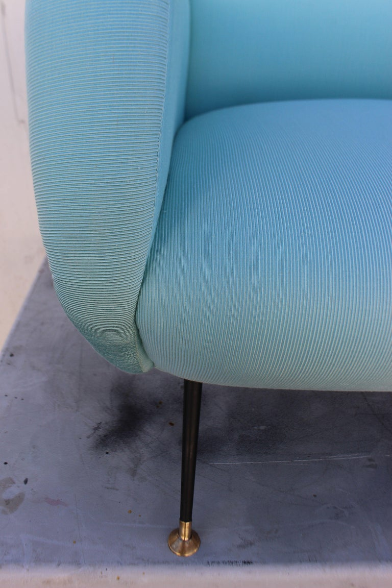 Mid-20th Century Italian Pair of Chairs For Sale
