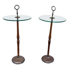 Italian Pair of Side Tables