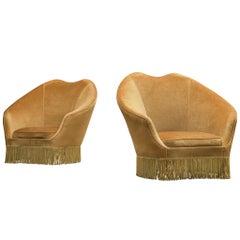 Pair of lounge chairs by Federico Munari