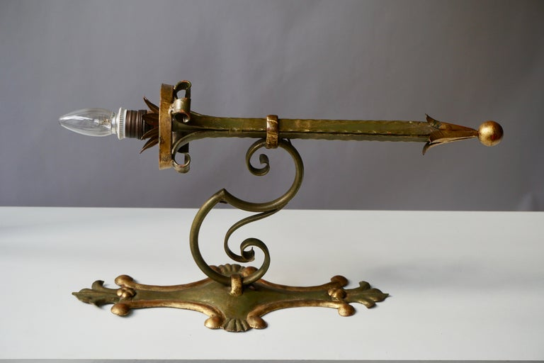 Italian Palladio Wall Light For Sale 1