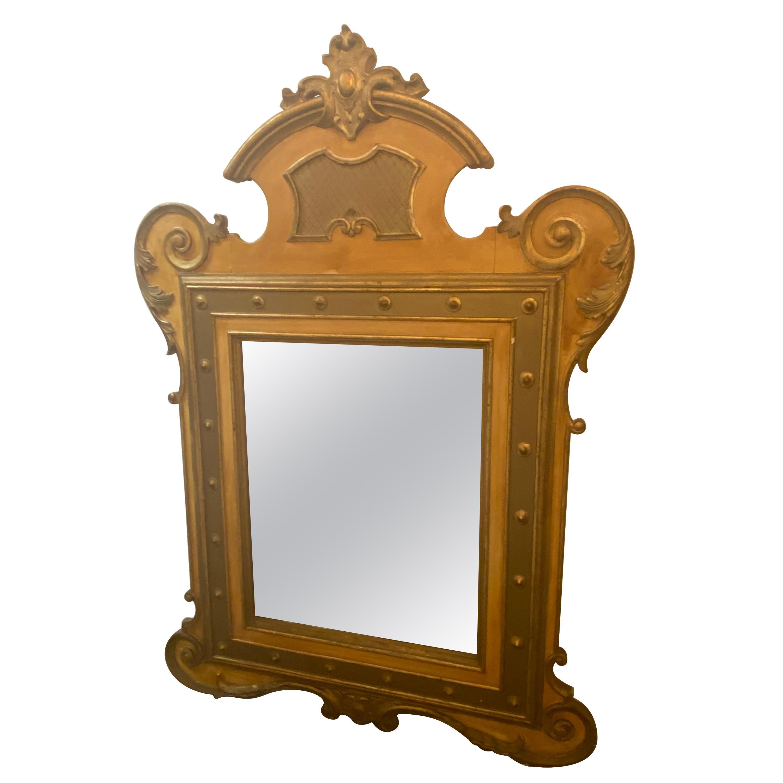 Italian Parcel Gilt Wall Mirrors