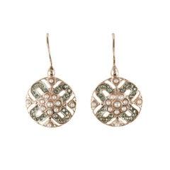 Baroque Lever-Back Earrings
